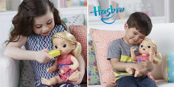 Muñeca Baby Alive Mimos y Cuidados (Hasbro C0957105) chollo en Amazon