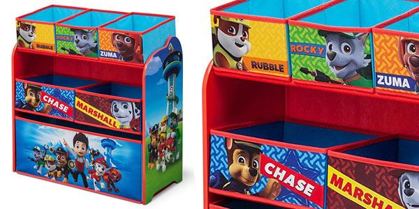 Mueble juguetero Delta Children PAtrulla Canina en oferta en Amazon