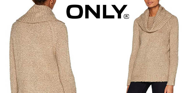Only Onlcarla L/S Rollneck pullover knt jersey oferta