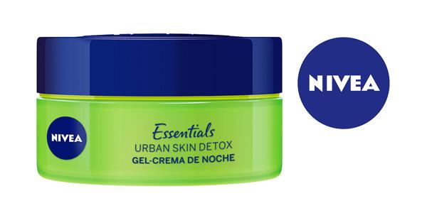 Pack x3 Gel Crema Nivea Essentials Urban Skin Detox de 50 ml/ud chollo en Amazon