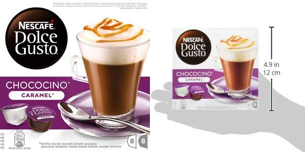 Pack 48 cápsulas NESCAFÉ Dolce Gusto Café Chococino Caramel chollo en Amazon