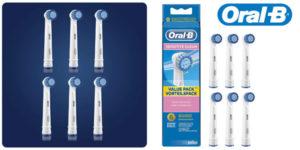 Pack x6 Recambios Braun Oral-B Sensitive barato en Amazon