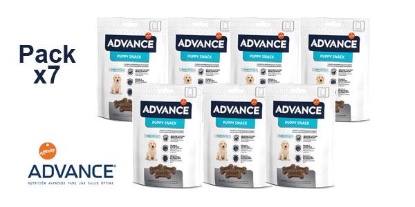 Pack x7 Advance Snack Puppy x 150gr/ud barato en Amazon