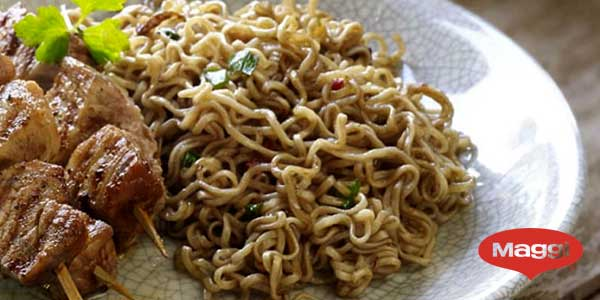 Pack x8 Maggi Fusian Pasta Oriental Noodles Sabor Ternera chollo en Amazon