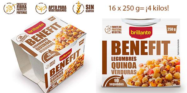 Pack Brillante Benefit de legumbres, quinoa y verduras de 4 kg en oferta