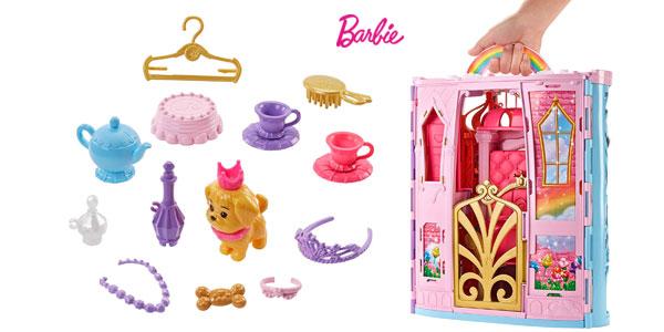 Palacio de muñecas Barbie Dreamtopia con accesorios (Mattel FTV98) chollo en Amaozn