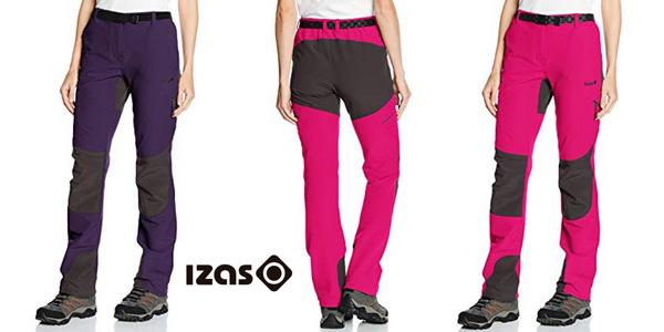 Chollazo Pantalones De Montana Izas Dera Para Mujer Por Solo 27 99 49 De Descuento