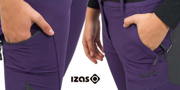 Pantalones senderismo Izas Dera para mujer chollo en Amazon