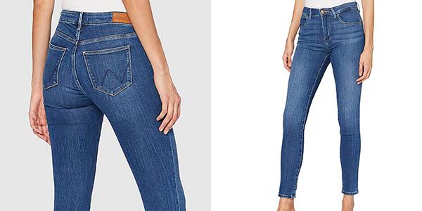 Pantalones vaqueros Wrangler Skinny para mujer
