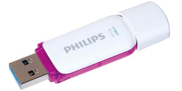 Pendrive Philips SNOW 3.3 de 64 GB barato