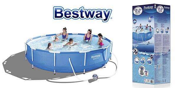 piscina Bestway Steel Pro desmontable oferta