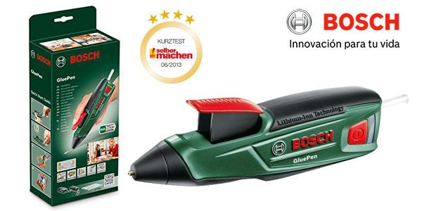 Pistola de pegar en caliente Bosch GluePen a batería barata en Amazon