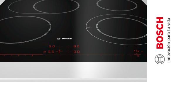 Placa vitrocerámica Bosch PKN601 de 60 cm chollo en Amazon