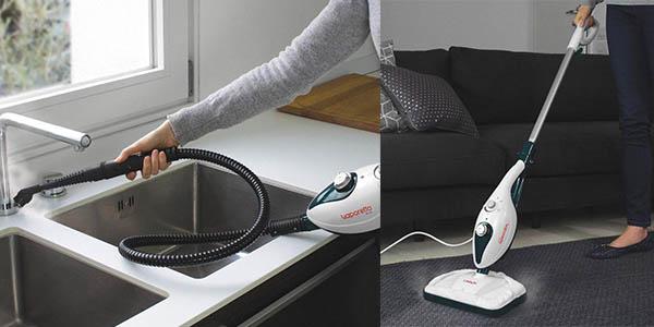 Polti Vaporetto SV240 escoba a vapor relación calidad-precio estupenda