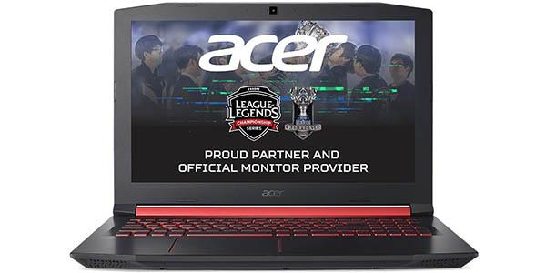 Portátil gaming Acer NITRO 5 AN515-52 de 15,6''