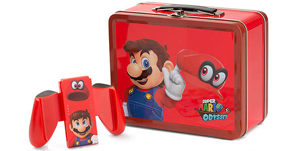 Lunch Box Kit Mario de Power A para Nintendo Switch
