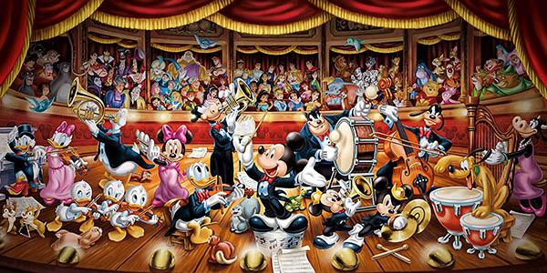 puzle Clementoni personajes Disney 13.200 piezas chollo