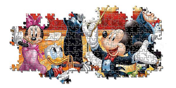 puzle infantil con los personajes de Disney Clementoni relación calidad-precio estupenda