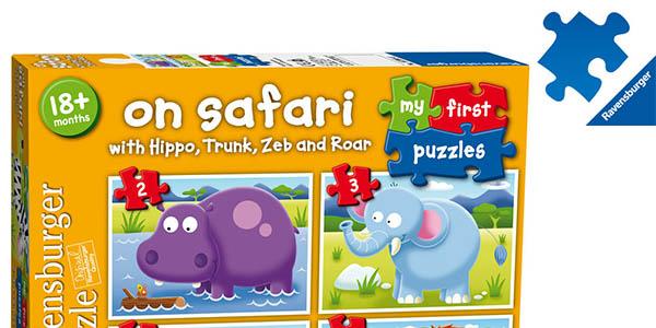puzle para niñ@s Ravensburger on Safari chollo