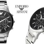 Reloj analógico Emporio Armani AR2460 barato en Amazon
