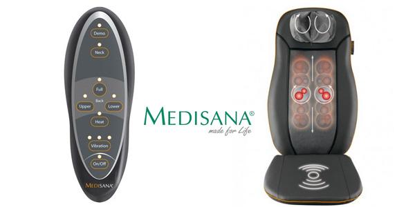 Respaldo masajeador Medisana MCN 88930 espalda shiatsu y acupresión barato en Amazon