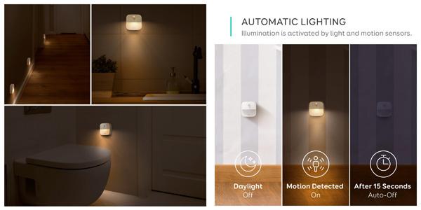 Set 3x Luz nocturna LED Eufy Lumi chollazo en Amazon