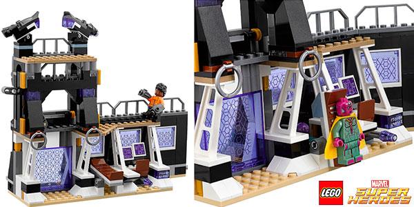 Set Ataque a la desgranadora de Corvus Glaive de LEGO Marvel con 5 minifiguras barato