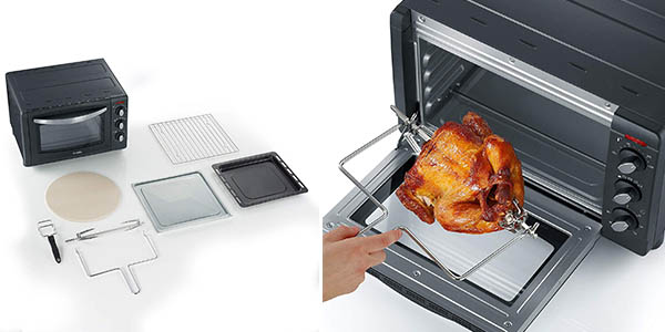 Severin To 2061 horno eléctrico con grill relación calidad-precio estupenda