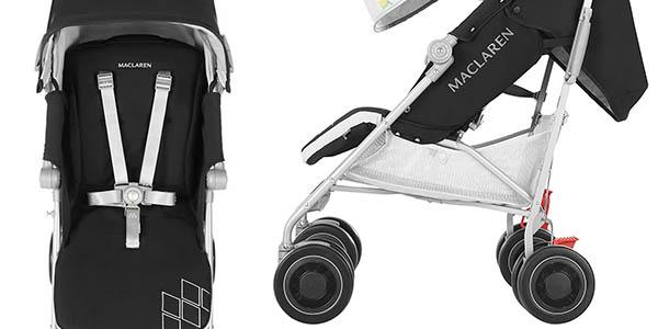 silla de paseo para bebés hasta 5 años Maclaren Techno XT relación calidad-precio estupenda
