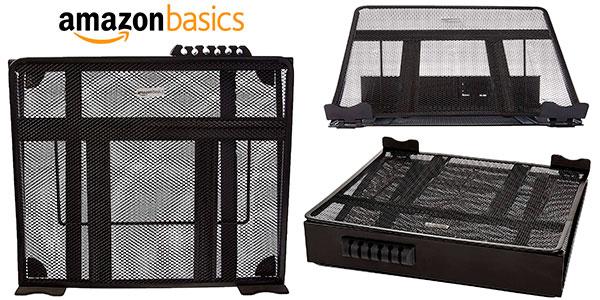 Soporte AmazonBasics ajustable ventilado para portátil barato