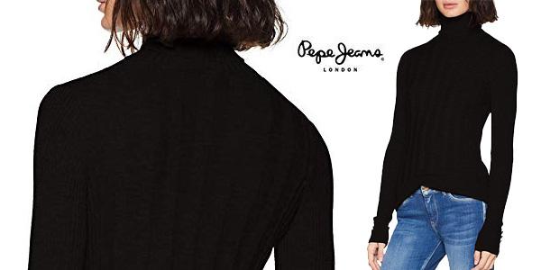 Suéter de punto Pepe Jeans Lupe para mujer barato en Amazon