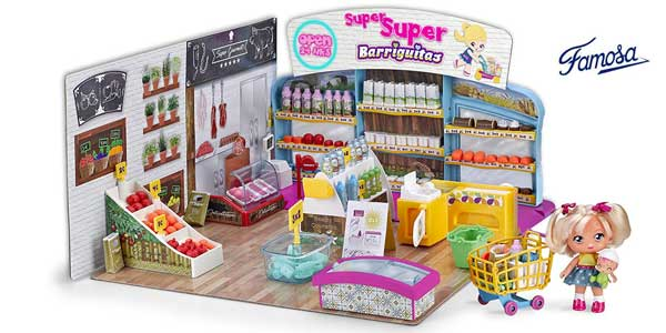 Set Barriguitas Supermercado (Famosa 700014516) barato en Amazon