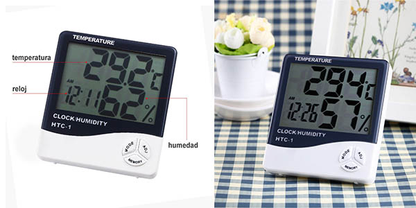 termómetro higómetro Anpro barato