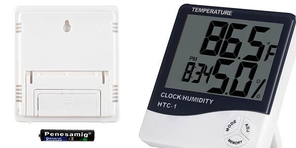 termómetro higómetro Anpro relación calidad-precio estupenda