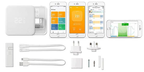 termostato inteligente Tado con control mediante Alexa, Google, Apple y IFTTT chollo