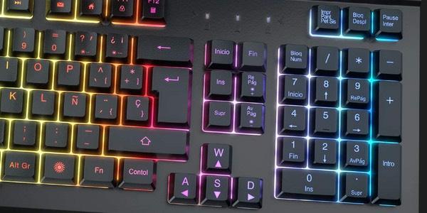 Teclado gaming con anti-ghosting