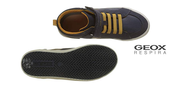 Zapatillas altas Geox J Alonisso Boy G para niños chollo en Amazon