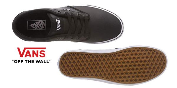 Zapatillas deportivas Vans Atwood Synthetic Leather para hombre chollo en Amazon