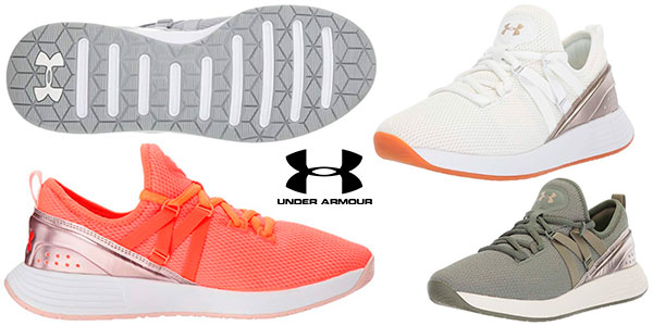 Zapatillas de entrenamiento Under Armour Breathe Trainer para mujer baratas