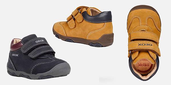 zapatos Geox B New Balu Boy primeros pasos para bebés chollo