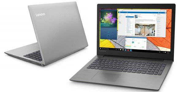 Portátil Lenovo Ideapad 330-15IKBR (Intel Core i3-8130U, 4GB RAM, 128GB SSD, Intel Graphics, Windows 10) en oferta en Amazon