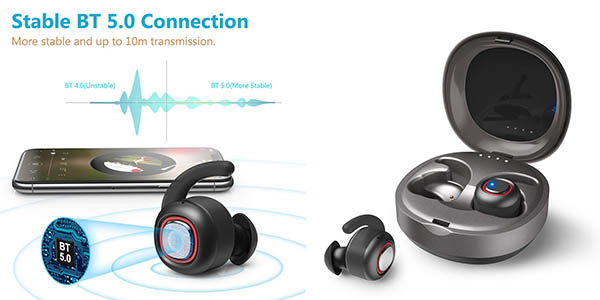 auriculares inalámbricos dodocool Bluetooth 5.0 baratos