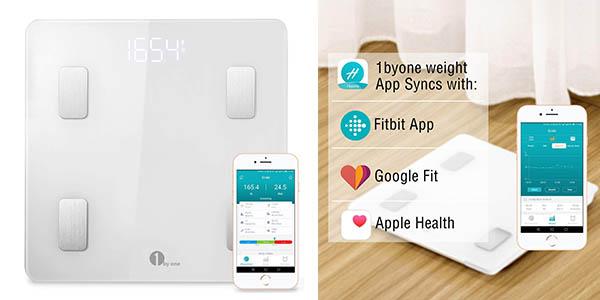 báscula digital 1 BY ONE Wireless Smart Scale barata