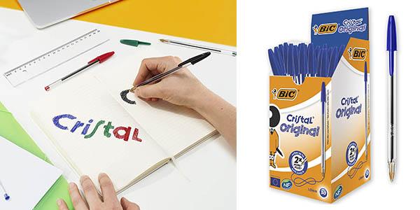Bic Cristal caja bolígrafos oferta