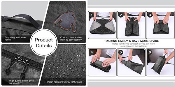 bolsas de equipaje Reyleo relación calidad-precio estupenda