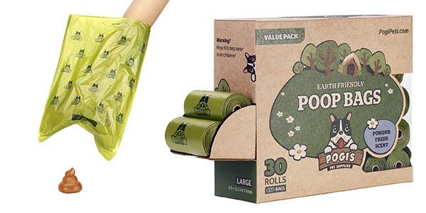 bolsas Pogi's Poop Bags excrementos para mascotas pack ahorro