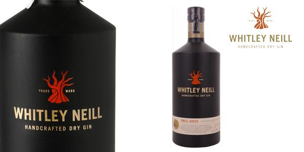 Whitley Neill London Dry Gin 1000 ml barata en Amazon
