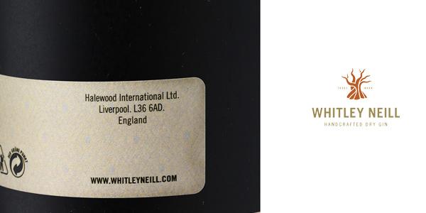 Whitley Neill London Dry Gin 1000 ml chollo en Amazon