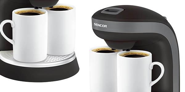 cafetera eléctrica Sencor sce 2000bk chollo
