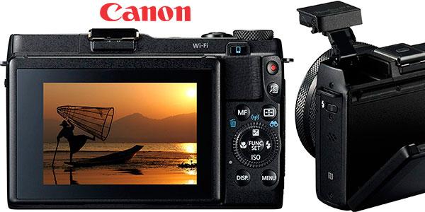 Cámara compacta Canon Powershot G1X Mark II de 12,8 mp con zoom óptico 5X barata